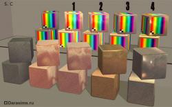 Свойства материалов в Sims 2 - часть 2