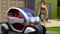 Концепткар от RENAULT в The Sims 3!