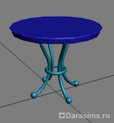 Создание мешей объектов с помощью 3ds Max
