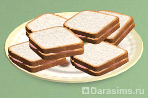 Бутерброды с мясом
