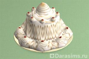 Десерт Аляска (Торт-мороженое)