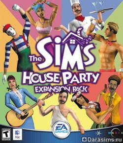 Обложка The Sims: House Party