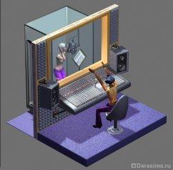 Студия звукозаписи в The Sims: Superstar