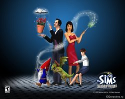 Семья Гот в The Sims: Makin' Magic