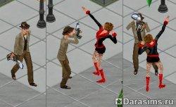 Забавные NPC персонажи в Симс 1