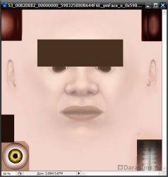 Создание дефолтных глаз в Sims 3