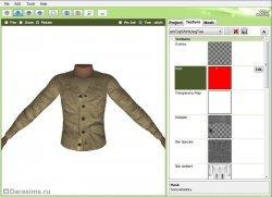Перекраска одежды в The Sims 3