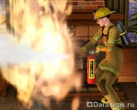 Карьера пожарного в The Sims 3 Ambitions