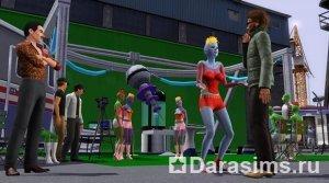Блог разработчиков о знаменитостях в The Sims 3: Late Night