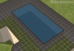 Строительство бассейна на крыше дома в Симс 2
