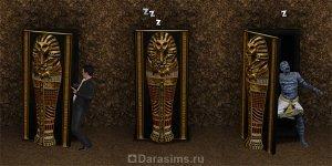 Мумии, саркофаги и проклятие мумий в «Симс 3 Мир приключений»