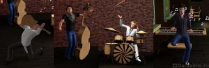 Музыкальные группы в «Симс 3: В сумерках»