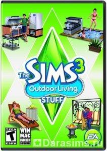 "Обложка и логотип нового каталога ""The Sims 3 Outdoor Living Stuff"""