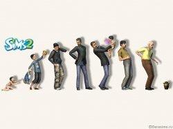 Мужская возрастная эволюция в Симс 2