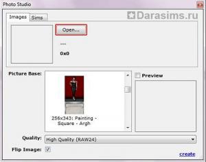 Перекраска картин с помощью SimPe