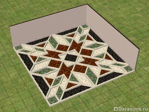 Мозаичный пол в Симс 2