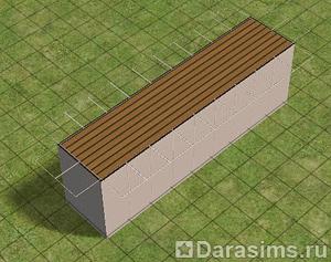 Строительство подвесного моста в Симс 2