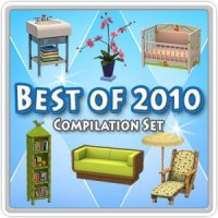 Два объединенных сета в «The Sims 3 Store»