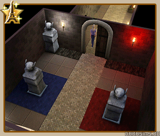 Франция - гробница «Секретный сад»
