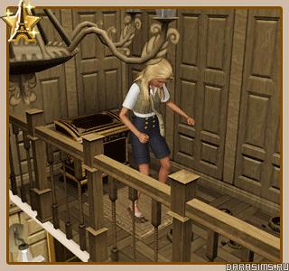 Франция - гробница «Замок Ландграаба»