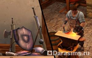Герои в «The Sims Medieval»
