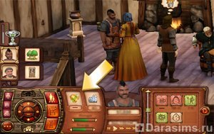 Обязанности в «The Sims Medieval»
