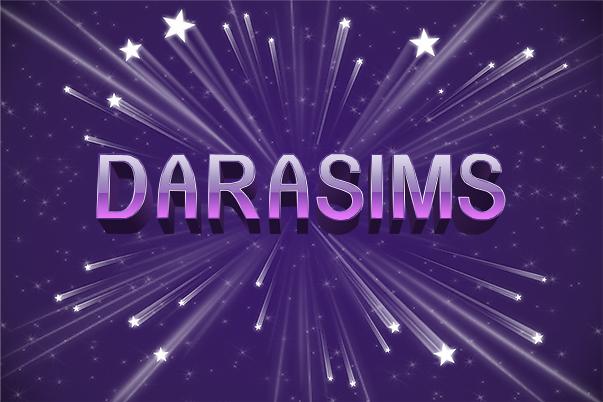 С Днем Рождения, DaraSims! Нам 4 года!