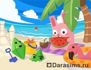 The Sims 3 Летняя открытка