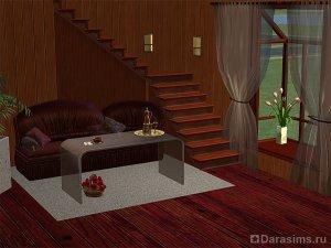 Модульные лестницы в Симс 2 с несколькими пролетами
