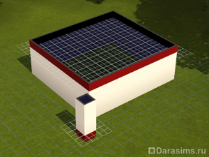 Строительство чердака в Симс 3