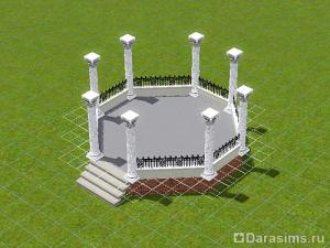 Строительство беседки в The Sims 3