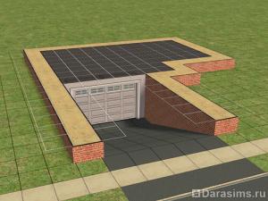 Подземный гараж в Симс 2