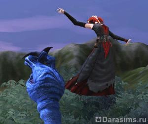 Квест - Возвращение ведьмы (прохождение рыцарем)