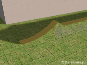Изогнутая стеклянная крыша в The Sims 2
