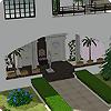 Крыльцо под аркой в The Sims 2