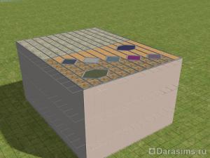 Строительство ветровых окон на крыше в Симс 2
