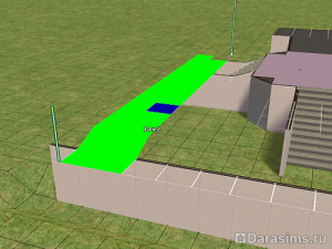 Парадная лестница в The Sims 2