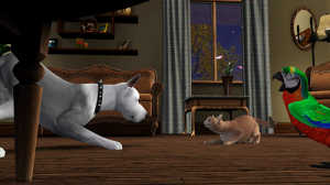 Что делают твои питомцы в The Sims 3 Pets?