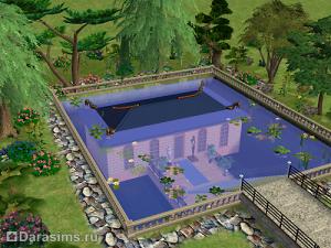 Строительство под водой в Симс 2