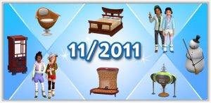 Ноябрьские новинки в The Sims 3 Store