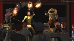 Станьте акробатом и поднимитесь выше всех в игре «The Sims 3 Шоу-Бизнес»
