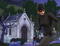 The Sims 3: грабительница