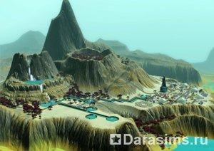 Мягкой посадки в новом и таинственном мире «TheSims3ЛунарЛейкс»