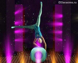 Превью «The Sims 3 Showtime»: профессия акробата