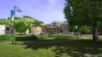 Парк в Симс 3