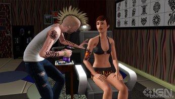 Татуировщик в Симс 3 Карьера