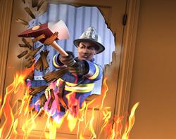 Пожарный в Симс 3 Карьера