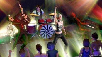 Музыкальная группа в Симс 3 В сумерках