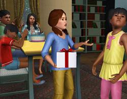День Рождения в Симс 3 Все возрасты