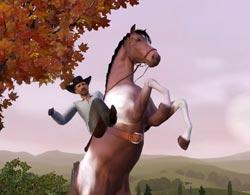 Лошади в Симс 3 Питомцы
